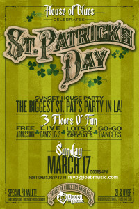 St. Patrick's Day - Paul Loeb @ House of Blues